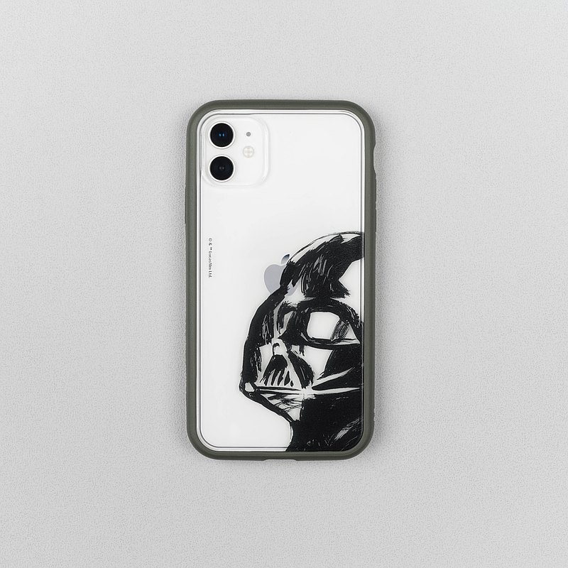 Mod NX frame back cover dual-use mobile phone case / Star Wars-Black Warrior-Classic iPhone
