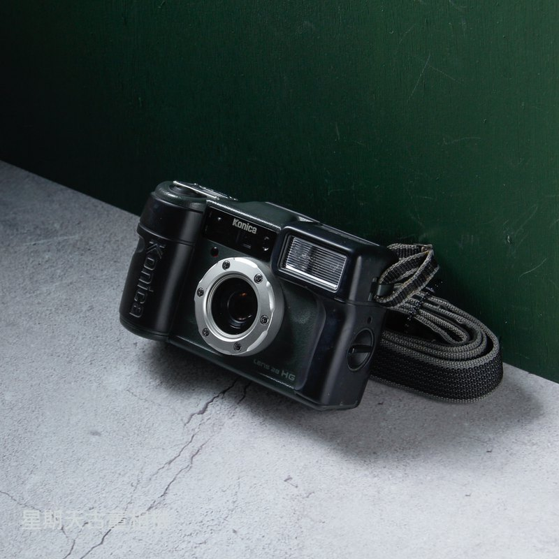 KONICA on-site supervision HG 28 film point-and-shoot camera