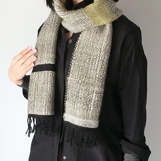 Unisex Scarf / Black and White Mix 2