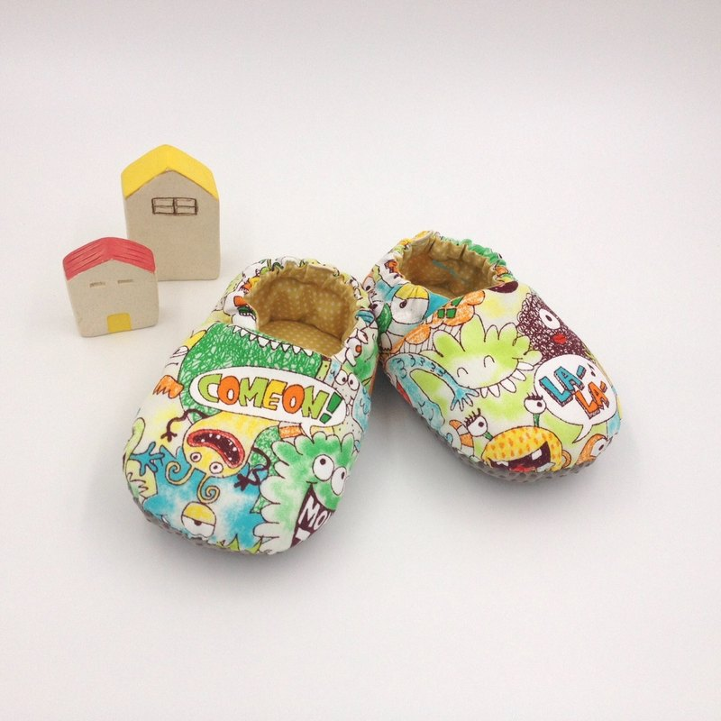 Doodle virus - toddler shoes / baby shoes / baby shoes
