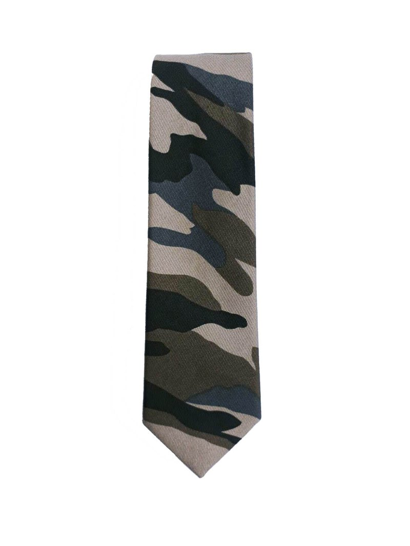 Fashion Camouflage Tie Neckties