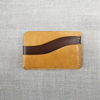 Customized! MICO hand sewing leather leisure wallet S models
