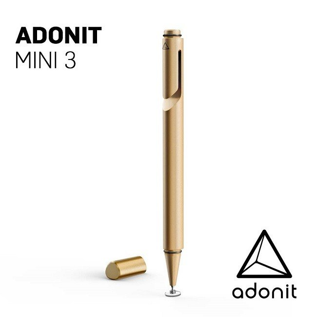 Adonit Mini 3 mini with touch pen - gold
