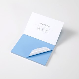 /Tesla Amazing/ Magnetic Notes S-Size blue