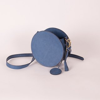 Hsu & Daughter Small Round Side Backpack [HDA0066]