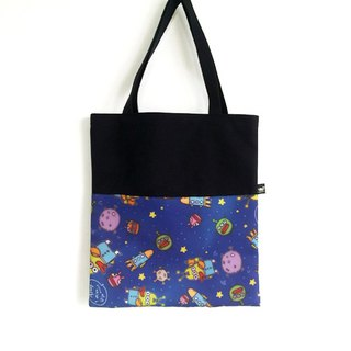 1212 Play design canvas bag - Mr. alien