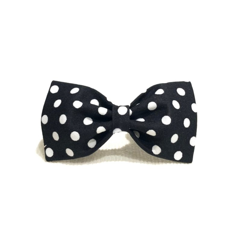 Ella Wang Design Bowtie Pet Bow Tie Bow Dog Black and White