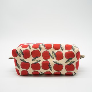 Red Apple Big Belly Beauty Makeup Bag / Universal Bag