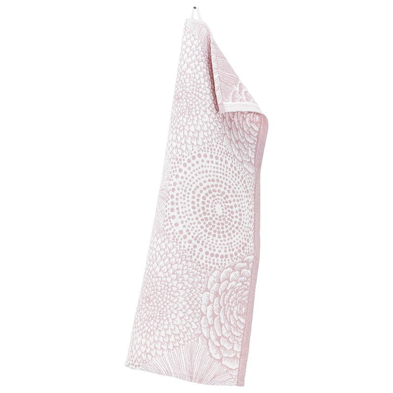 RUUT cotton and linen towel (rose powder)