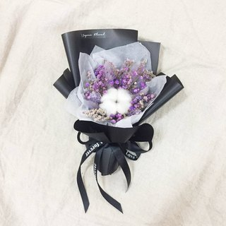 // A high-end romantic//purple cotton dry bouquet/lover's gift sister's birthday gift