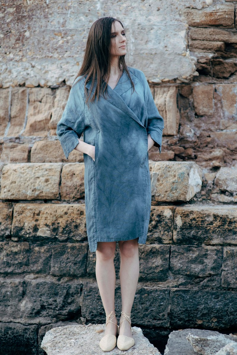 Linen Dress Motumo 16S8