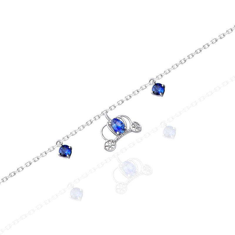 [brilliantia] 10K Blue Pumpkin Carriage - Bracelet - (PZ0034-2)
