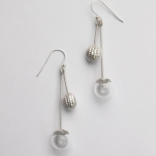 Organism Organism sterling silver earrings