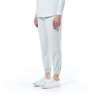 Caveman Pants - Talia Light Grey Stripe
