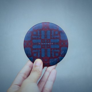Etcetera《Pattern》Mini Round Mirror