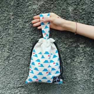 Beam bag / Mount Fuji rice white