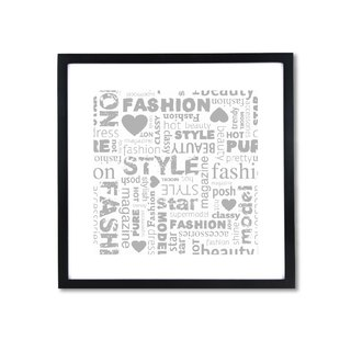 HomePlus Decorative Frame - Fashion Series Grey 43x43cm Homedecor