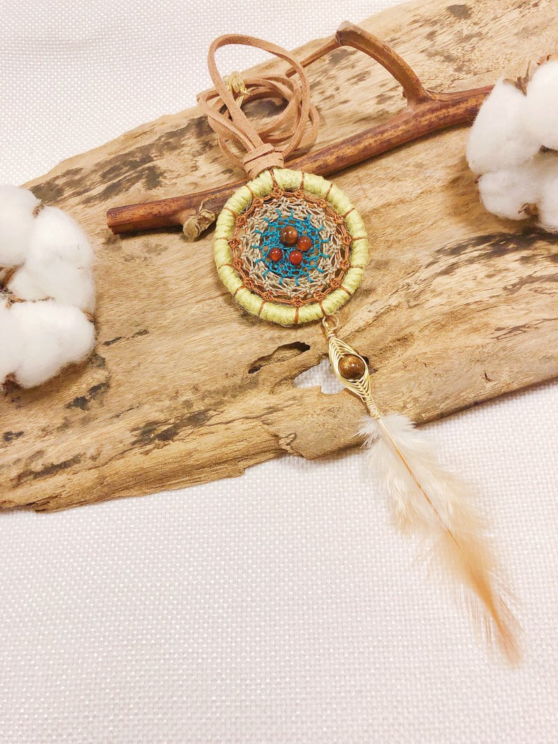 Soul Dreamcatcher Nesting | Custom Handmade Necklace Healing Healing Gifts Unique