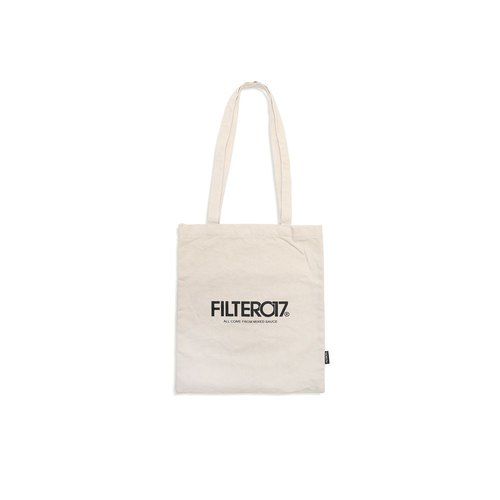 Filter017 Logo Tote Bag / Logo 棉帆布托特包