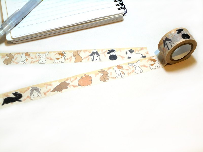Rabbit paper tape