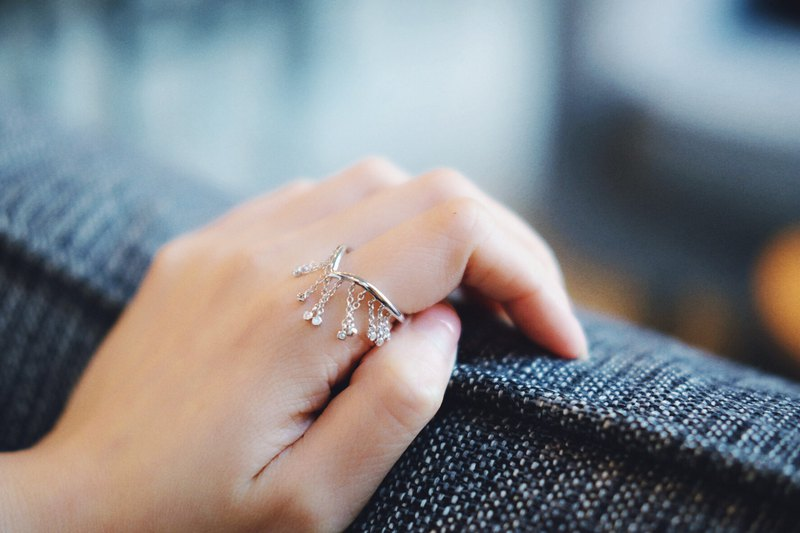 Meteor Shower Series Ring Rain Stars Collection ring
