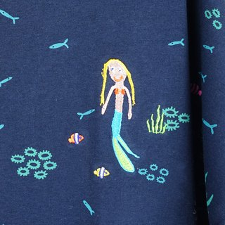 Urb. / Coral Sea and Mermaid / Pocket Dress