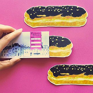 Greeting card/Eclair