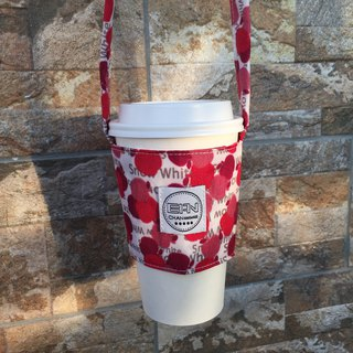 Red Apple* Green Cup Set/Beverage Bag