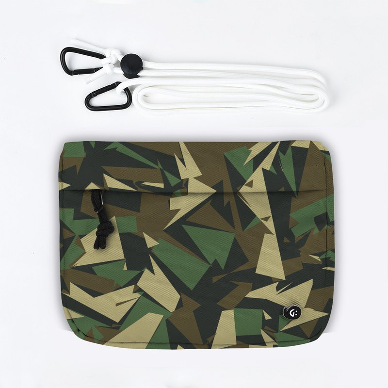 Grinstant Mashup Detachable Pouch Shoulder Bag - Adventure Series (Camouflage Green)