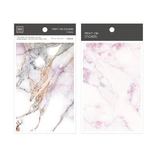 [Print-On Stickers]| Texture Series 01-Pink Marble | Pocket, DIY