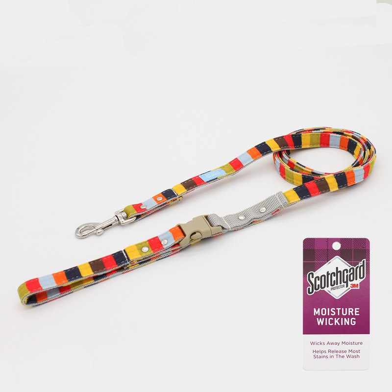 **NEW**3M colorful series leash - playful strip