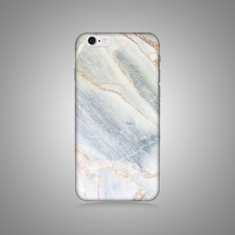 Empty shell series - Coral marble original mobile phone case / protective cover (hard shell)