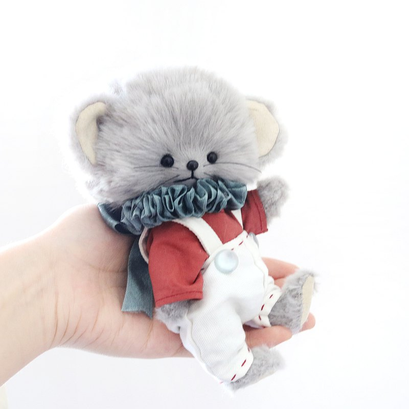 Handmade five-joint mouse doll artist teddy bear