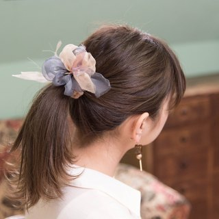 mini || Basic || Blooming Sakiami Colourful Hair Scrunchy || Hair Accessory