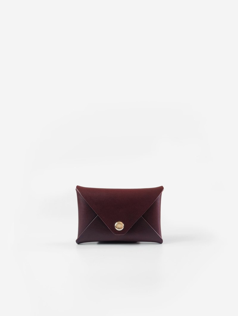 Warren Card Holder in Mulberry