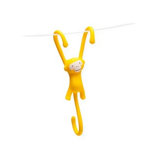 Just Hanging - Kitchen Hooks -Pack of 3 - Yellow