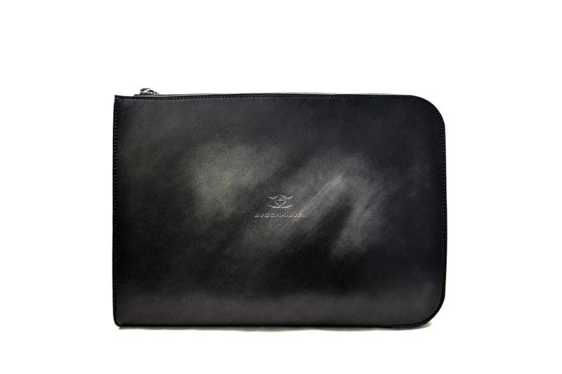 ACROMO Black Zip Around Clutch Bag