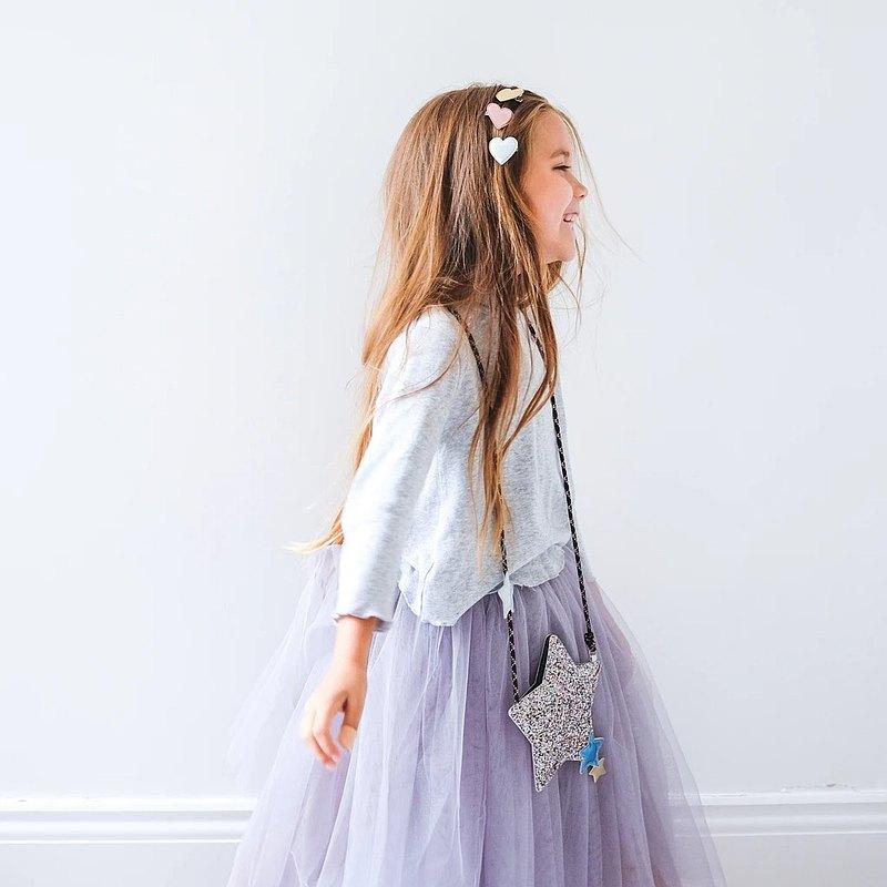 金色甜心髮夾 三件組 |【咪咪&露拉】英國兒童時尚俏皮配飾