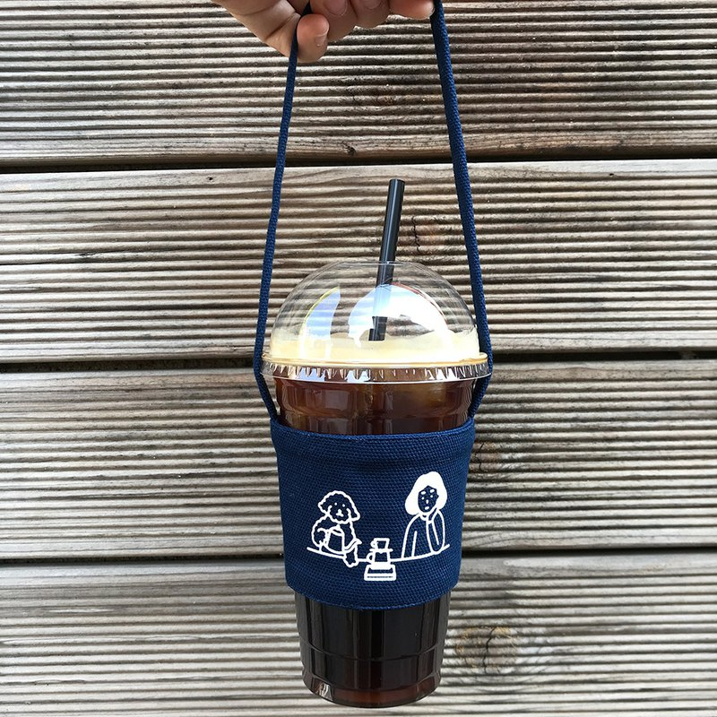 Drink bag | Coffee time (navy)