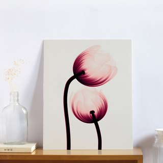 """Flower"" audio decorative painting - Valentine's Day gift - 11x14 inch art micro-spray"