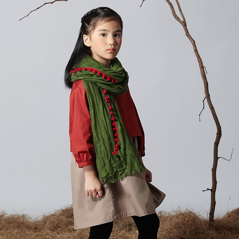 Two-piece cardigan dress color after Ángeles- (7-10 years old)