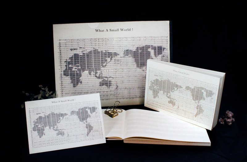 Find you in the corner of the world. Musical World Map Three Goods [Selected Gifts for Valentine's Day]