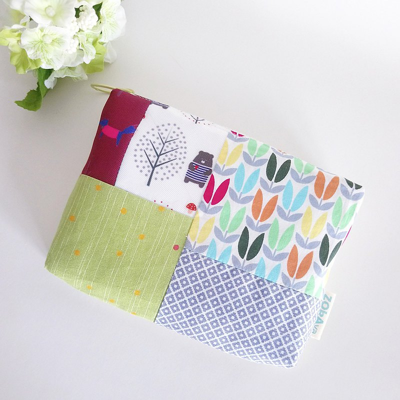 Patchwork Pouch (Scandinavian style)