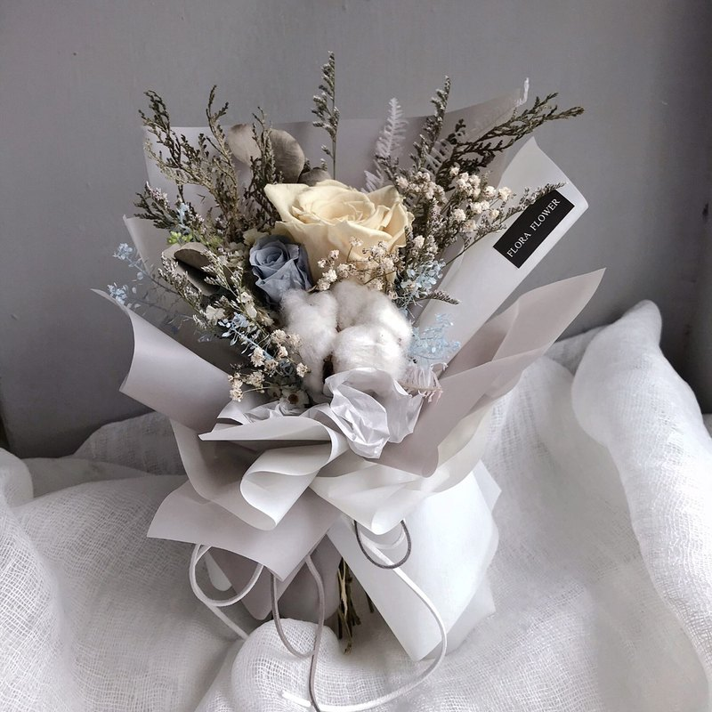 Graduation Bouquet (Youth) Everlasting Flower Cotton Everlasting Bouquet Graduation Gift