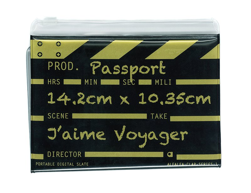 Director clap Classic passport - Gold