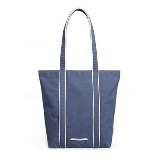 Simple series - long handle style tote bag - tannin blue - RTO205NA
