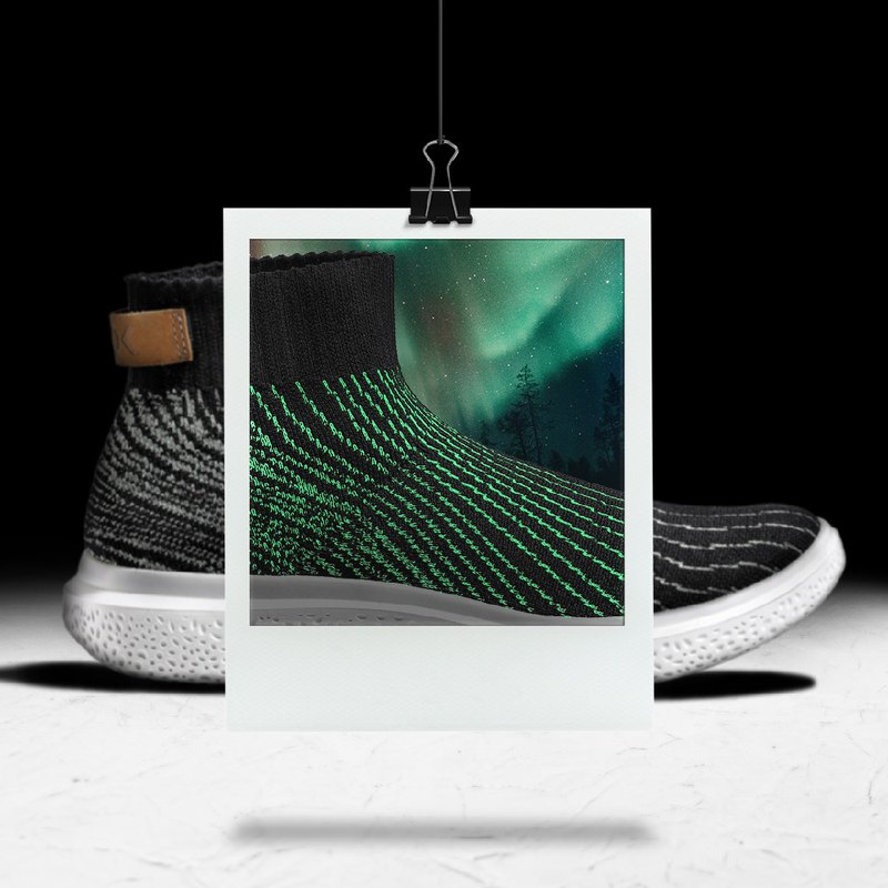 (MEN)AURORA MID. SNEAKERS/Aurora green