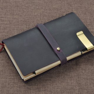 No. (skin debit): first layer of leather retro travel notebook notebook diary PDA free printed sign, zodiac signs, letters, etc.