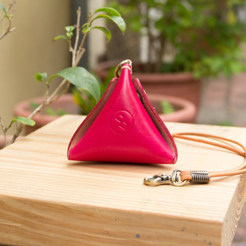 DUAL the leather smart coin purse