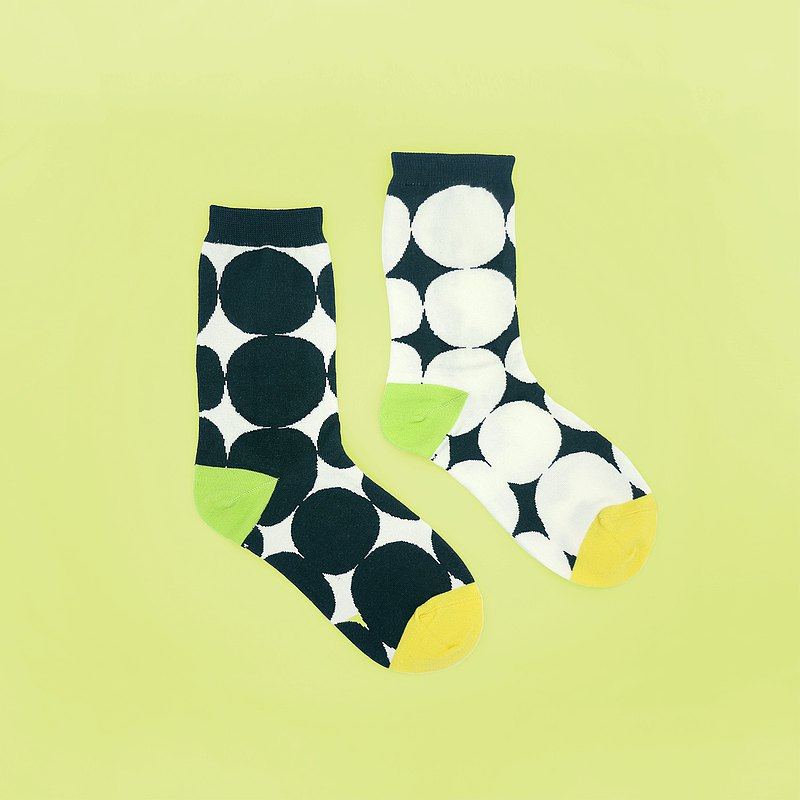 [Made in Taiwan] Gap/Green (M, L)-Design Socks